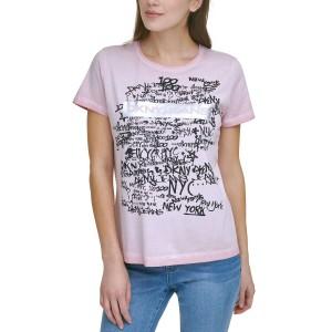DKNY Logo Graphic T-Shirt