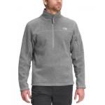 Mens Gray Gordon Lyons Classic Half-Zip Sweater