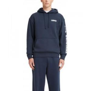 Mens Graphic Relaxed Fit Hoodie Sweatshirt