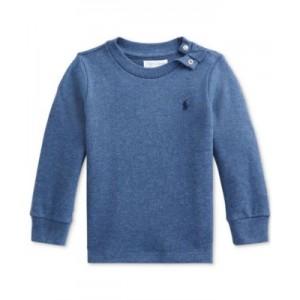 Baby Boys Waffle-Knit Cotton T-Shirt