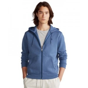 Mens Double-Knit Full-Zip Hoodie