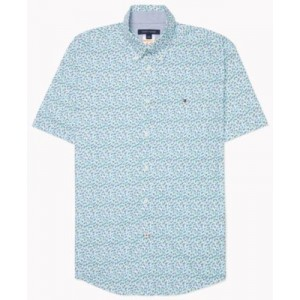 Mens Classic-Fit Kove Floral Shirt with Magnetic Buttons
