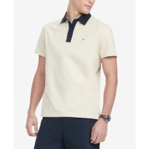 Mens Classic-Fit Ed Rugby Polo