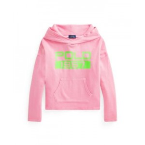 Little Girls Logo Spa Terry Hoodie