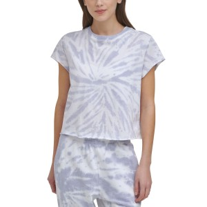 Sport Womens Cotton Tie-Dyed T-Shirt