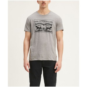 Mens 2-Horse Graphic T-shirt