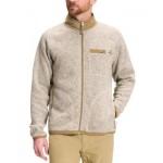 Mens Gordon Lyons Standard-Fit Full-Zip Fleece Sweater
