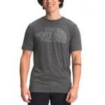 Mens Half Dome Tri-Blend T-Shirt