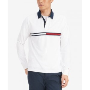 Mens Tanner Long-Sleeve Polo Shirt