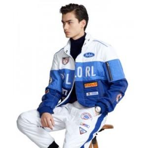 Water-Resistant Racing Jacket