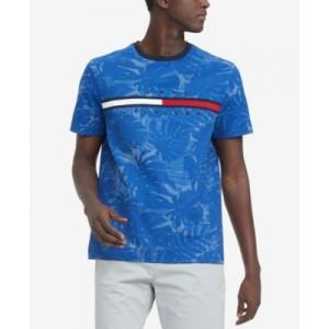 Mens Tino Palm Print T-Shirt