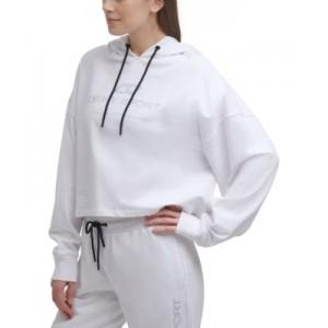 Sport Womens Rhinestone Logo Cotton Hoodie