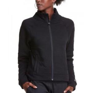 Womens Sport Soft Touch Zipper Jacket