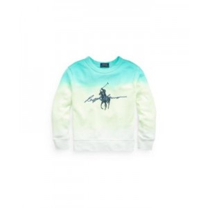Little Boys Dip-Dyed Spa Terry Graphic Sweatshirt