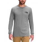 Mens Logo Graphic Long-Sleeve T-Shirt