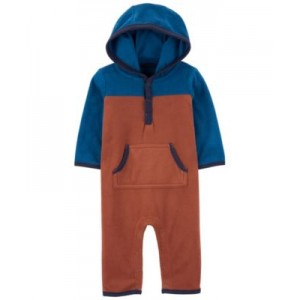Hooded Fleece Jumpsuit