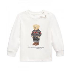 Baby Boys Polo Bear Cotton Jersey T-Shirt