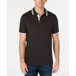 Michael Kors Mens Liquid Cotton Greenwich Polo Shirt