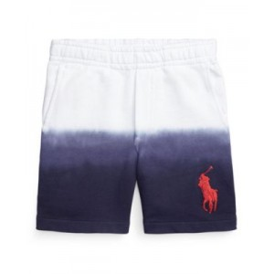 Little Boys Dip-Dyed Cotton Terry Short