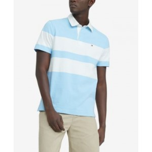 Mens Classic-Fit Eisner Rugby Polo