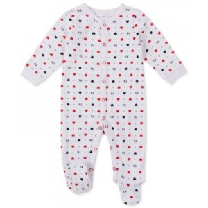 Baby Girls Printed Cotton Coverall