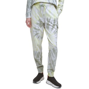 Cotton Tie-Dyed Joggers