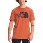 Mens Half Dome Logo Graphic T-Shirt