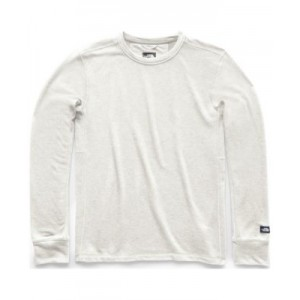 Mens Terry Solid Long-Sleeve T-Shirt