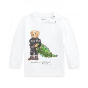 Baby Boys Holiday Bear Cotton T-Shirt