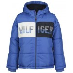 Toddler Boys Chase Puffer with Color Block Jacket