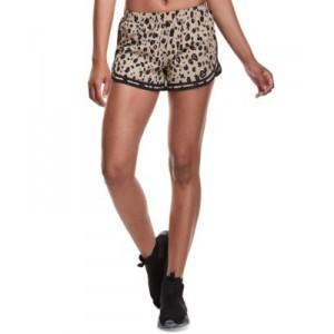 Womens Printed Drawstring Shorts
