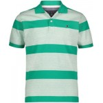 Little Boys End on End Stripe Polo Shirt