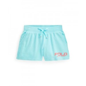 Big Girls Logo Spa Terry Shorts