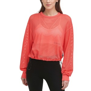 Sport Womens Mesh Cropped Top