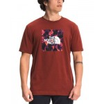 Mens Boxed In Logo Graphic T-Shirt