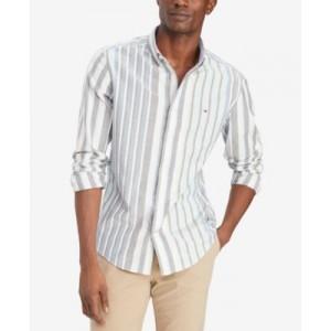 Mens Waterston Striped Long-Sleeve Shirt