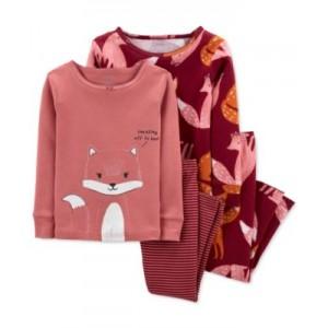 Baby Girls Fox Cotton Pajamas Set