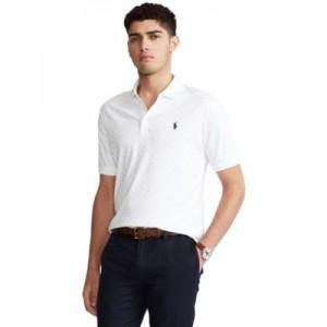 Mens Classic-Fit Soft Cotton Polo Shirt