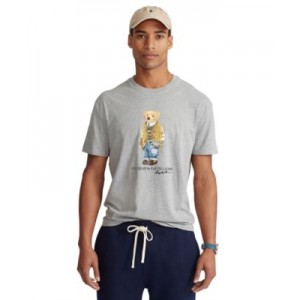 Mens Big & Tall Polo Bear Jersey T-Shirt