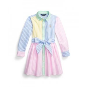 Little Girls Oxford Fun Shirtdress