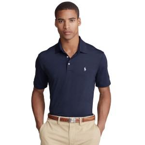 Mens Big & Tall Performance Jersey Polo Shirt