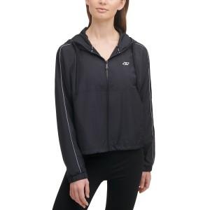 Sport Womens Zippered Hooded Jacket