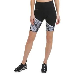 Sport Womens Tie-Dyed Bike Shorts