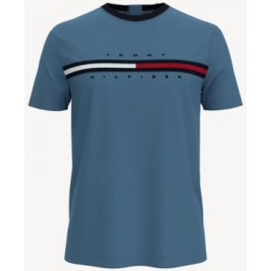 Mens Seated-Fit Tino Logo T-Shirt with Velcro Back Closures
