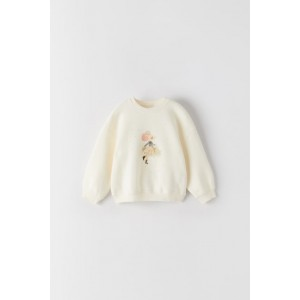 TULLE TRIM MOUSE SWEATSHIRT