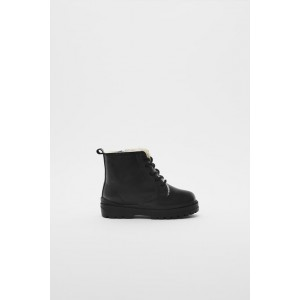 LINED LEATHER BOOTS