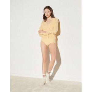 Wool twinset cardigan