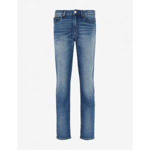 Armani Exchange J22 TAPERED FIT JEANS, Tapered Fit Jeans for Men | A|X Online Store