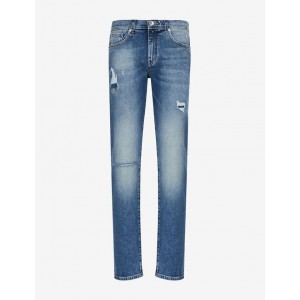 Armani Exchange J16 STRAIGHT CUT JEANS, STRAIGHT FIT JEANS for Men | A|X Online Store