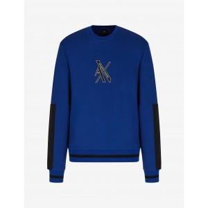 Armani Exchange CREW NECK SWEATSHIRT, Sweatshirt for Men | A|X Online Store